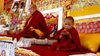 The unmistaken child at enthronement ceremony