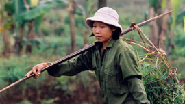 Nguyen Thi Phuong is a single mother and farmer in the Quang Tri Province