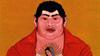 """Cesar A. Martinez's painting """"El Hombre Que Gustan Las Mujeres"""""""