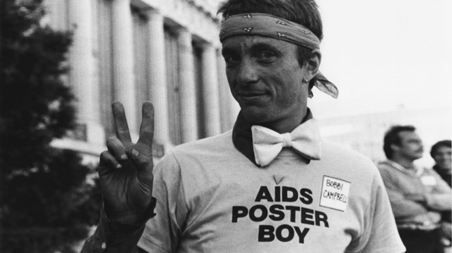 Bobbi Campbell, AIDS poster boy