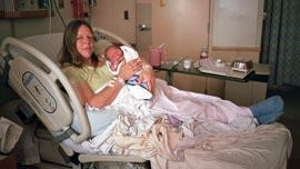 Starr Smith and baby Luma in San Francisco