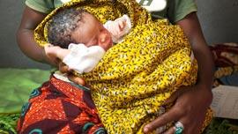 Baby Rachel in Sierra Leone