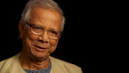 Muhammad Yunus outlines the benefit to loaning women money.