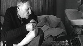 William S. Burroughs shooting heroin