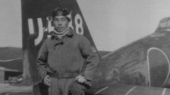 Official Kamikaze portrait of Ueshima Takeo