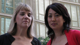 Producer/Writer Linda Hoaglund and Producer/Director Risa Morimoto