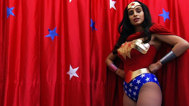 Valerie Perez as Wonder Woman