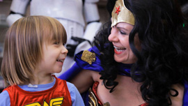 Wonder Woman Day in Portland, OR
