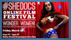 SheDocs Online Screening of Wonder Women!
