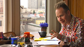 "Peter Sellars, director and librettist for the opera ""Doctor Atomic,"" 2005"
