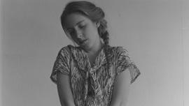 Photo by Francesca Woodman:  Untitled 1980 (Peterborough NH)